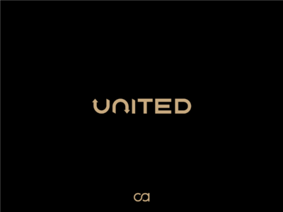 United - Logo symbol mark logotype logos logo design logo icons egypt dubai