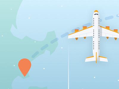 Giveaway Flight illustration