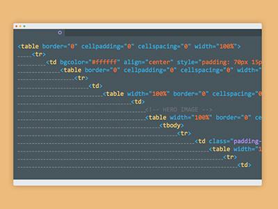 Email Coding illustration