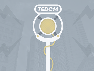 TEDC14 Speaker Interviews illustration