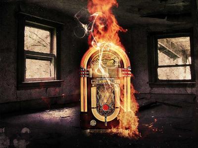 Flaming Jukebox