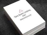 Tara Quinn Lindsey card design