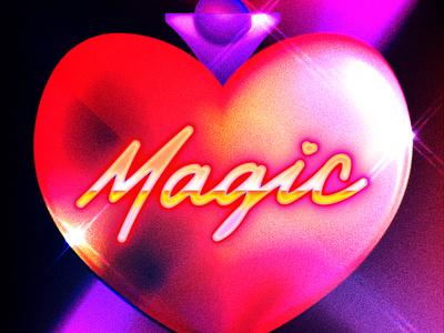 Magic Mondays cover art music digital illustration design