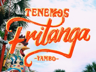 Miami Dribble florida latin america spanish miami lettering typography type 30daysofdribbble miamidribbble
