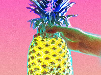 Always Sweet art direction editorial spring summer miami neon manipulation photo