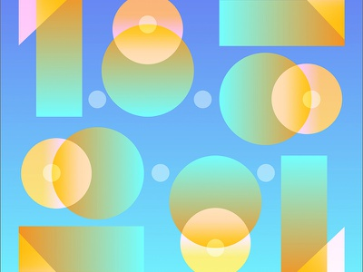1.18.18 geometric pattern numbers light typography gradient type number 18