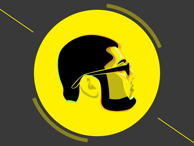 Portfolio yellow grey cv portfolio website
