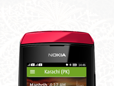 Nokia Asha - prayer app