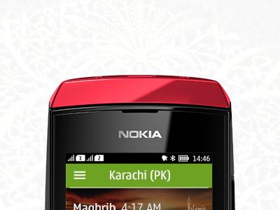 Nokia Asha - prayer app prayer islam religion muslim asha nokia finder times