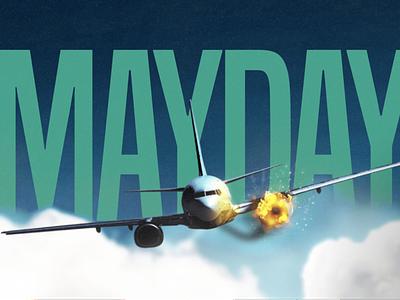 Mayday splash ui ux flight game aviation