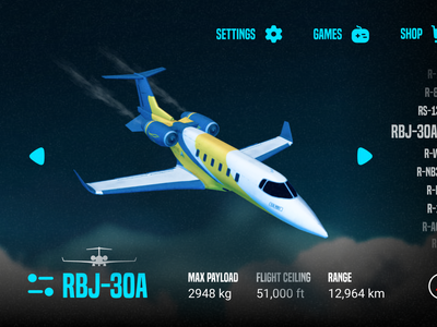 Mayday ui app design game save crash landings extreme rortos simulator concept aviation flight