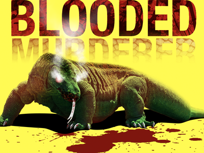 Blooded Murderer yellow demon dragon komodo red blood