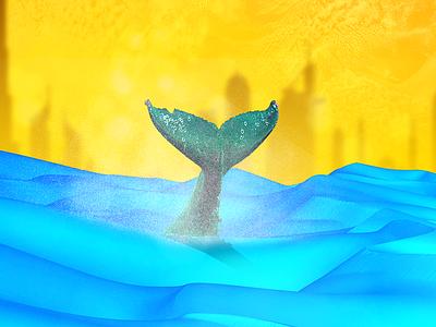 Sector X dubai desert blue whale