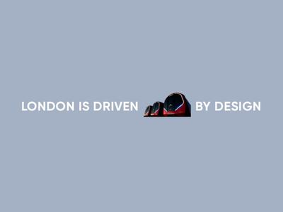 London is driven by design graphic design ui animation motion design photoshop sketch principle design transportforlondon tfl visual design transport london interaction design concept