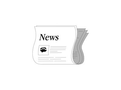 TextNow News app web design vector illustration branding