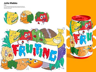 Fruiting concept art characterdesign cartoon illustration art logo design branding