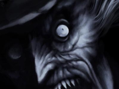 Babadook artdigital dark digitalart fanart fear horror illustration monster photoshop babadook thebabadook