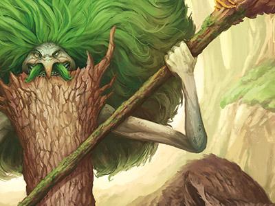 Lisovik and Owlbear