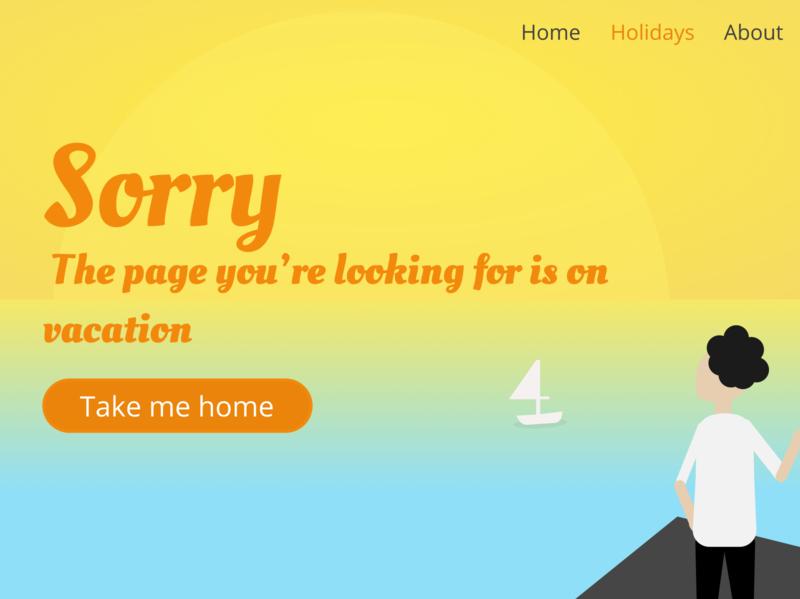 404 Error 404 error webpage vector illustration ui design 404 dailyui