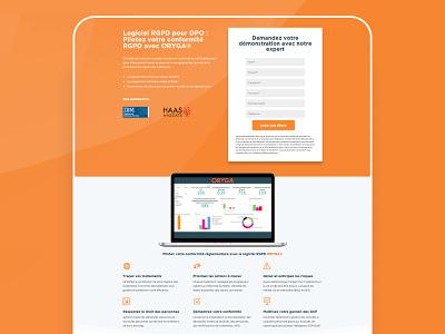 BMI SYSTEM software gdpr landing page webdesign