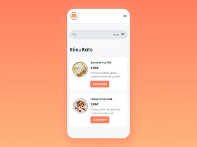 Daily UI #022 - Search pancake daily ui 022 daily ui dailyui webdesign