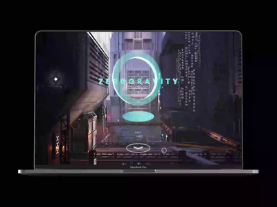ZeroGravity Group  WOW website by Y Agency