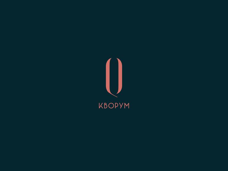 Quoroom logo design and corporate identity