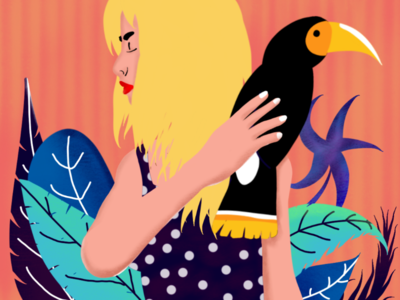 Girl and the bird