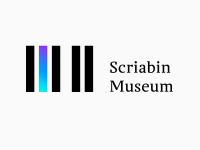 Scriabin Museum Identity vrn-dribbble-sd interaction piano classical music museum identity