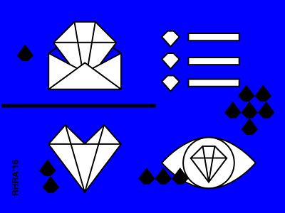 RHRA 2016 Icons Set identity ruby icons