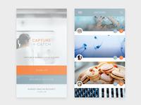 DailyUI #002 / Mobile Start & Discover