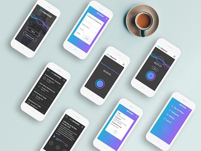 Omnireporter recorder concept ui app mobile