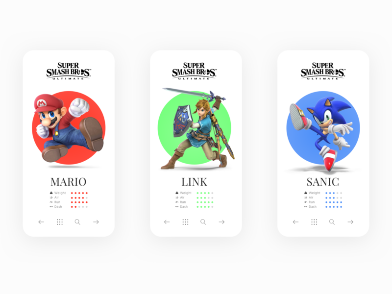 Super Smash Brothers Ultimate By Saman On Dribbble