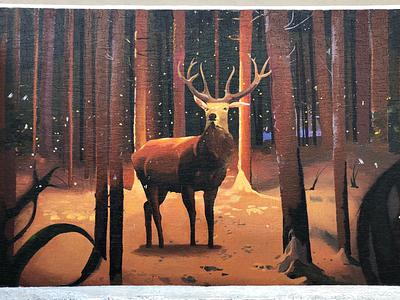 Acrylic wall art 11/13feet