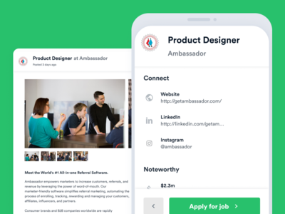 Job Board designs, themes, templates and downloadable
