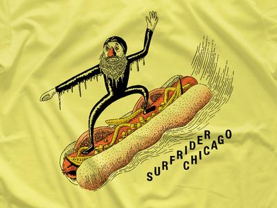 Surfrider Chicago T-shirt