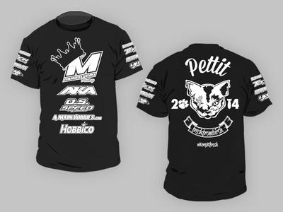 RC Race Car Driver's Sponsor T-shirt sponsors t-shirt streetwear illustration fashion design clothing logo branding brand apparel