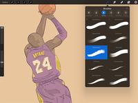 Kobe Fades into History