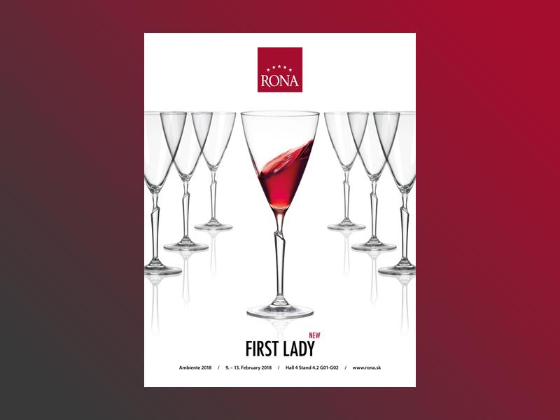 Advertisement wine print leaflet handmade glassworks glassware glass drink design advertisement catalogue catalog