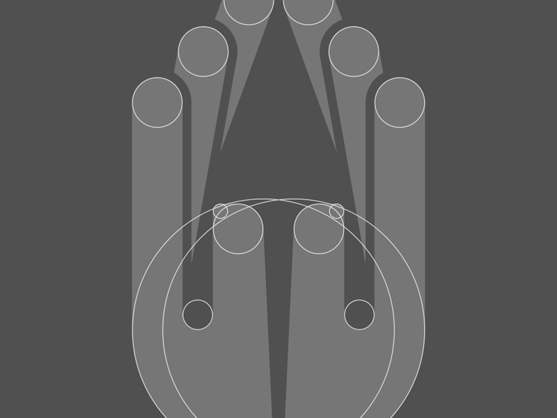 Handmade Glassware glassworks glass wine glassware handmade hand structure logotype logo grid geometrical geometric