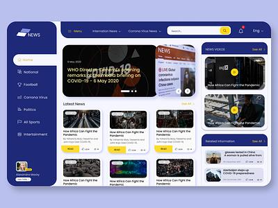 Web Design: Blog Layout webdesign ui web