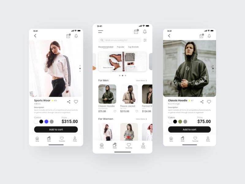 Clothing E-Commerce App