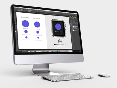 Apple Watch Icon Template Screenshot apple watch icon template psd photoshop download free