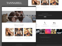 TANNAHILL -  Theme Template Layout for custom CMS