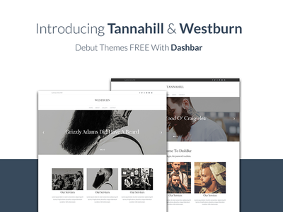 Dashbar Themes cms website webdesign dashbar template theme