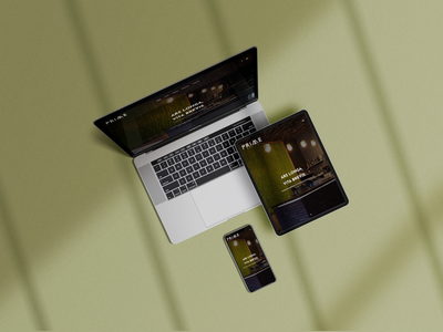 Website Design | PRIME Bistro & Bar design website web design ui design