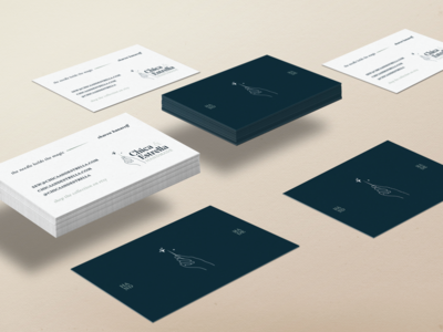 Chica & Estrella Handmade Business Card Design