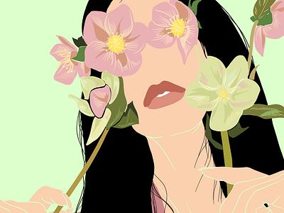 Faceless 5 portrait portrait illustration illustration design