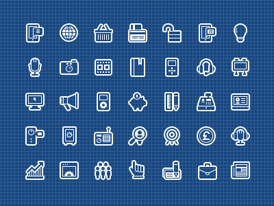 560 glyphs 32px 24px finance web social media marketing glyphs icons vector graphicriver raster