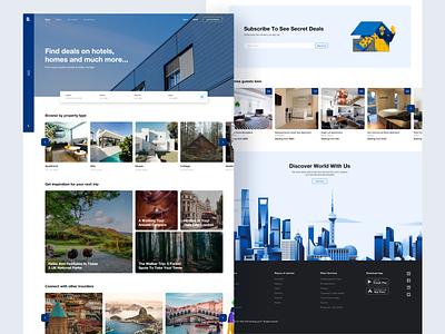 Booking Redesign Concept design web ui real estate booking brand design website design website concept ui  ux uidesign